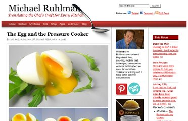 http://ruhlman.com/2012/02/the-egg-and-the-pressure-cooker/