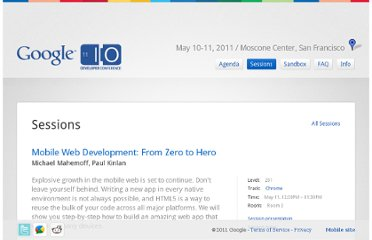 http://www.google.com/events/io/2011/sessions/mobile-web-development-from-zero-to-hero.html