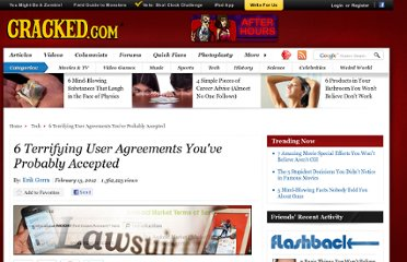 http://www.cracked.com/article_19683_6-terrifying-user-agreements-youve-probably-accepted.html