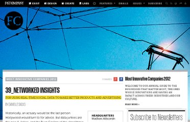 http://www.fastcompany.com/most-innovative-companies/2012/networked-insights