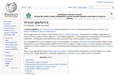 http://en.wikipedia.org/wiki/Virtual_appliance#Relationship_to_Software_as_a_Service_.28SaaS.29