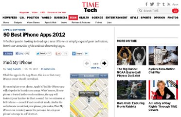 http://techland.time.com/2012/02/15/50-best-iphone-apps-2012/#find-my-iphone