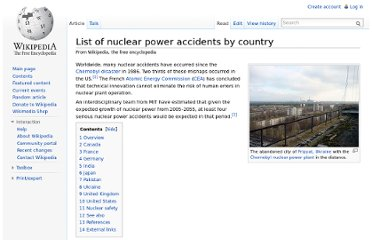 http://en.wikipedia.org/wiki/List_of_nuclear_power_accidents_by_country