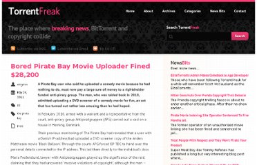 http://torrentfreak.com/bored-pirate-bay-movie-uploader-fined-28200-110524/
