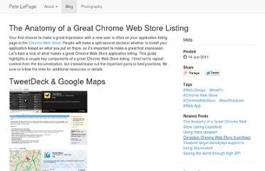 http://petelepage.com/blog/2011/06/the-anatomy-of-a-great-chrome-web-store-listing/