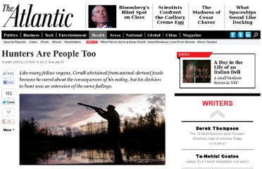 http://www.theatlantic.com/health/archive/2012/02/hunters-are-people-too/252870/