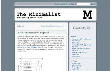 http://theminimalist.net/2009/05/14/income-distribution-vs-happiness/