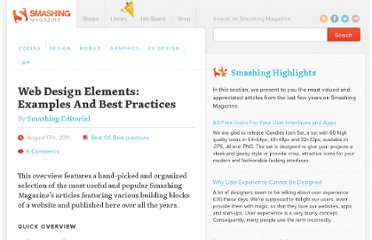 http://www.smashingmagazine.com/web-design-essentials-examples-and-best-practices/