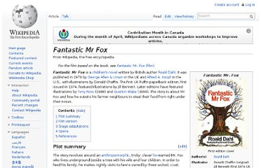 http://en.wikipedia.org/wiki/Fantastic_Mr_Fox