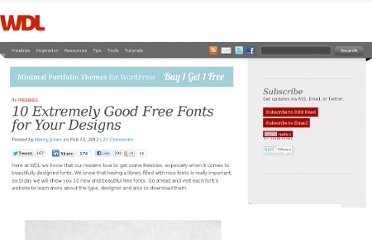 http://webdesignledger.com/freebies/10-extremely-good-free-fonts-for-your-designs