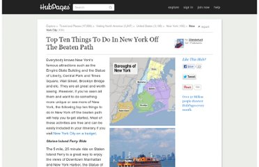 http://wanderlust.hubpages.com/hub/New-York-Off-The-Beaten-Path