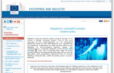 http://ec.europa.eu/enterprise/policies/industrial-competitiveness/industrial-policy/index_en.htm