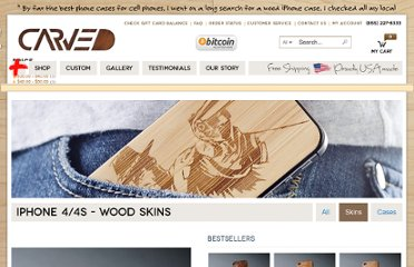 http://www.carved.com/shop/iphone-4-4s-skins
