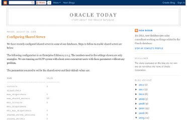 http://oracletoday.blogspot.com/2005/08/configuring-shared-server.html