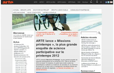 http://pro.arte.tv/2012/02/arte-lance-missions-printemps-la-plus-grande-enquete-de-science-participative-sur-le-printemps-2012/