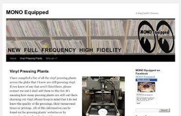http://monoequipped.wordpress.com/vinyl-pressing-plants/