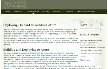 http://docs.orchardproject.net/Documentation/Deploying-Orchard-to-Windows-Azure