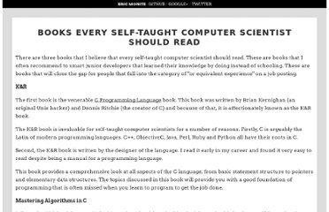 http://eric.themoritzfamily.com/books-every-self-taught-computer-scientist-should-read.html
