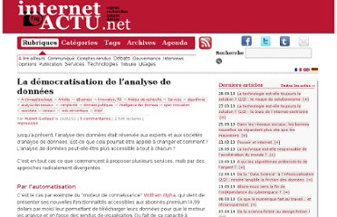 http://www.internetactu.net/2012/02/16/la-democratisation-de-lanalyse-de-donnees/