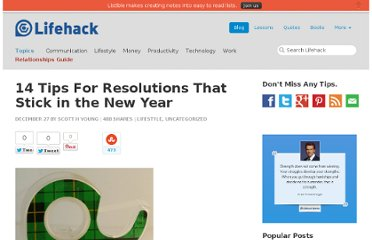 http://www.lifehack.org/articles/lifehack/14-tips-for-resolutions-that-stick-in-the-new-year.html