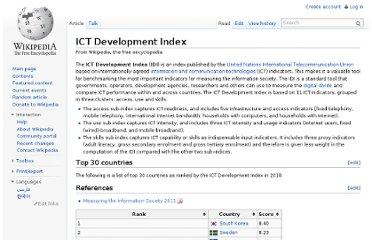 http://en.wikipedia.org/wiki/ICT_Development_Index