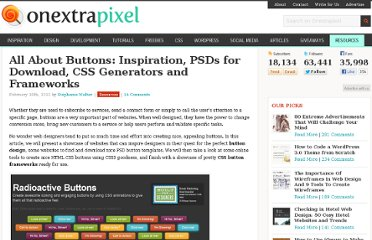 http://www.onextrapixel.com/2012/02/16/all-about-buttons-inspiration-psds-for-download-css-generators-and-frameworks/