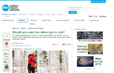 http://www.mnn.com/health/fitness-well-being/stories/should-you-exercise-when-youre-sick