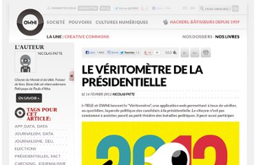 http://owni.fr/2012/02/16/veritometre-factchecking-presidentielle/