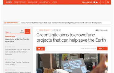 http://thenextweb.com/apps/2012/02/16/greenunite-aims-to-crowdfund-projects-that-can-help-save-the-earth/