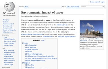 http://en.wikipedia.org/wiki/Environmental_impact_of_paper