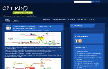 http://www.optimind.be/blog/mind-mapping/le-mind-mapping-comme-alternative-aux-procedures-ennuyeuses.htm