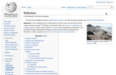 http://en.wikipedia.org/wiki/Pollution