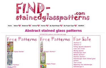 http://find-stainedglasspatterns.com/abstract-stainedglasspatterns.html