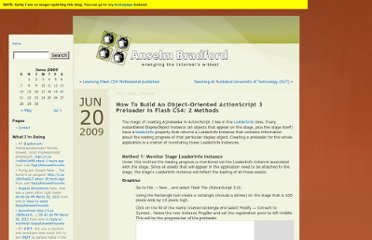 http://blog.anselmbradford.com/2009/06/20/how-to-build-an-object-oriented-actionscript-3-preloader-in-flash-cs4-2-methods/