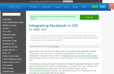https://parse.com/tutorials/integrating-facebook-in-ios
