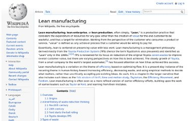http://en.wikipedia.org/wiki/Lean_manufacturing#Steps_to_achieve_lean_systems
