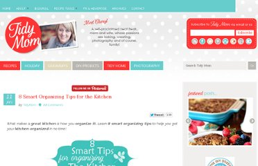 http://tidymom.net/2012/8-smart-organizing-tips-for-the-kitchen/