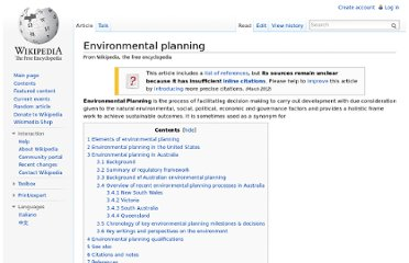 http://en.wikipedia.org/wiki/Environmental_planning