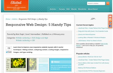 http://www.elated.com/articles/responsive-web-design-5-handy-tips/