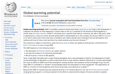 http://en.wikipedia.org/wiki/Global-warming_potential