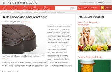 http://www.livestrong.com/article/434221-dark-chocolate-and-serotonin/