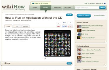 http://www.wikihow.com/Run-an-Application-Without-the-CD
