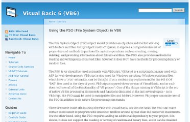 http://www.vb6.us/tutorials/using-fso-file-system-object-vb6