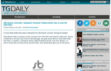 http://m.tgdaily.com/entertainment/61499-abraham-lincoln-vampire-hunter-featurette-has-a-secret-identity