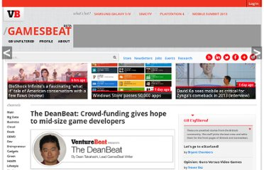 http://venturebeat.com/2012/02/17/the-deanbeat-crowdfunding-holds-promise-for-mid-size-game-developers/