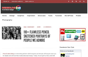 http://www.dzineblog360.com/2012/02/110-flawless-pencil-sketched-portrays-of-people-we-admire/