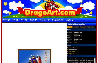 http://www.dragoart.com/tuts/3999/1/1/how-to-draw-mecha.htm