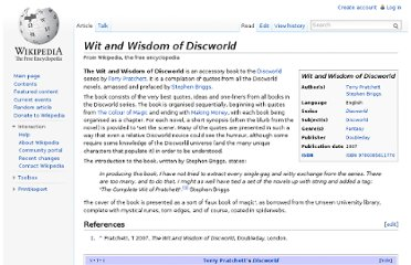 http://en.wikipedia.org/wiki/Wit_and_Wisdom_of_Discworld
