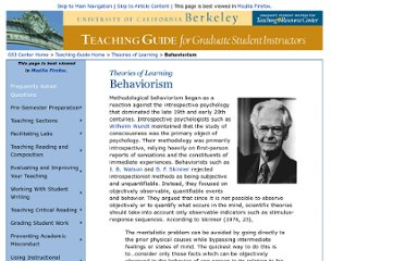 http://gsi.berkeley.edu/teachingguide/theories/behaviorism.html
