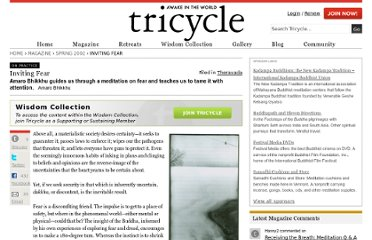 http://www.tricycle.com/practice/inviting-fear